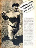 """WORLD SERIES FOR 1937"" MAGAZINE."