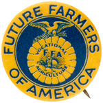 """FUTURE FARMERS OF AMERICA"" 1930s BUTTON."