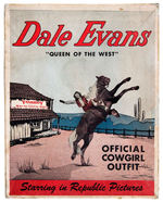"""DALE EVANS QUEEN OF THE WEST OFFICIAL COWGIRL OUTFIT"" BOX"