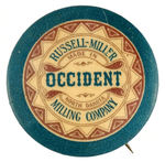 """OCCIDENT"" BUTTON."