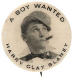 """HARRY CLAY BLANEY"" ACTOR AND LATER NYC THEATER PRODUCER FROM HAKE COLLECTION & CPB."