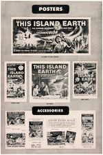 """THIS ISLAND EARTH"" PROMOTIONAL BOOK & PUBLICITY STILL."
