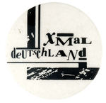 XMAL DEUTSCHLAND VINTAGE MUSIC BUTTON.