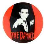 THE DAMNED VINTAGE MUSIC BUTTON.
