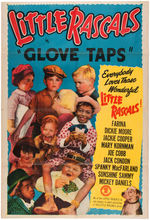 "LITTLE RASCALS ""GLOVE TAPS"" MOVIE POSTER."