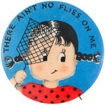 NORCROSS GREETING CARDS BUTTON FROM THEIR EARLY 1940s SERIES.