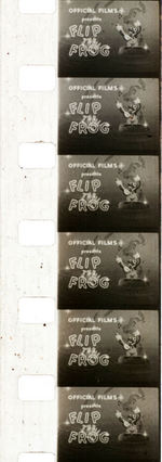"""FLIP THE FROG"" BOXED FILM."