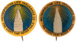 "CPB INSURANCE #566 AND 567 ""METROPOLITAN LIFE INSURANCE CO."" BUTTONS."