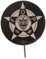 "CPB POLICE #351 ""FOP"" FRATERNAL BUTTON."