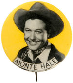 CPB COWBOYS #413 MONTE HALE BUTTON.