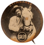 """STINGAREE"" MOVIE BUTTON FROM ""KALEM"" STUDIOS BUTTON."