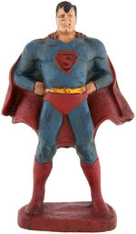 RARE SUPERMAN FULLY-PAINTED PROMOTIONAL FIGURE.