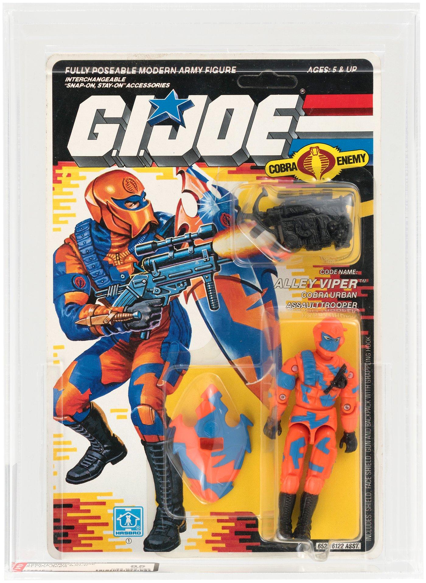 GI Joe Cobra Alley Viper Backpack NO HOOK Original Accessory Part 1989