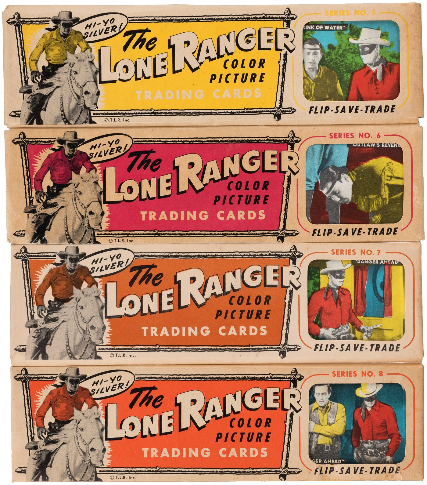 Hake S The Lone Ranger Color Picture Trading Cards Full Packs Single Cards Lot