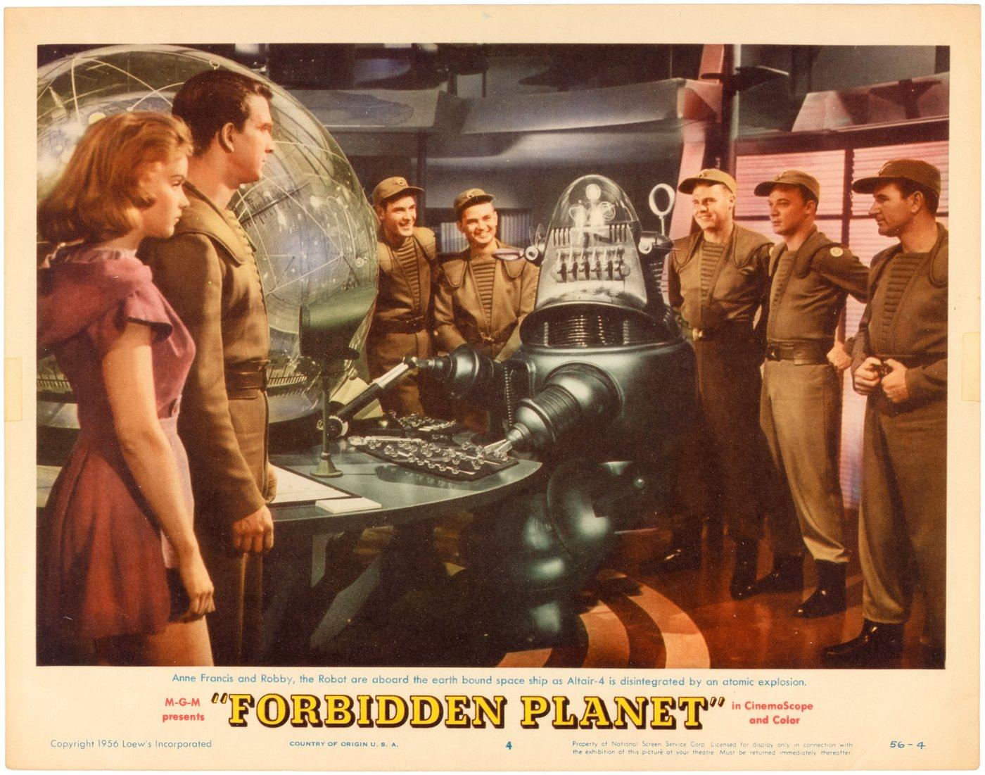 25 Lobby Cards from the Forbidden Zone - Flashbak